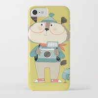 photographer iPhone & iPod Cases featuring photographer by kate hindley