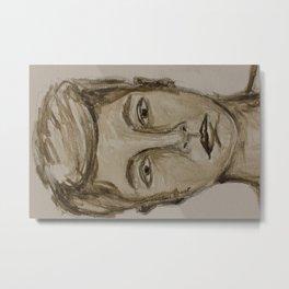 Portrait of a Guy Metal Print
