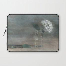 Spirea in vial art Laptop Sleeve