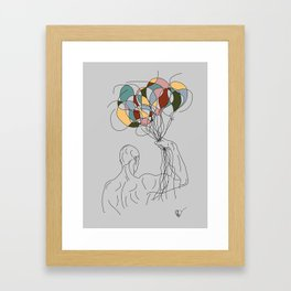 Invincible Power of Imagination Framed Art Print