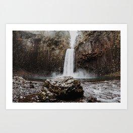 Abiqua Falls Art Print