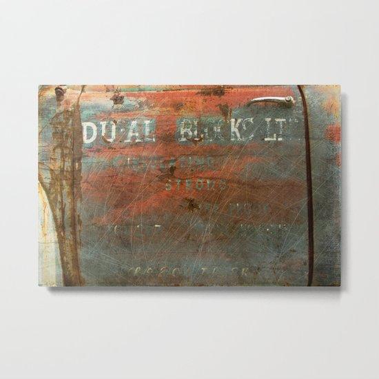 DU-AL Metal Print