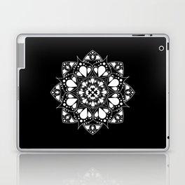 Mandala Black and White Magic Laptop & iPad Skin