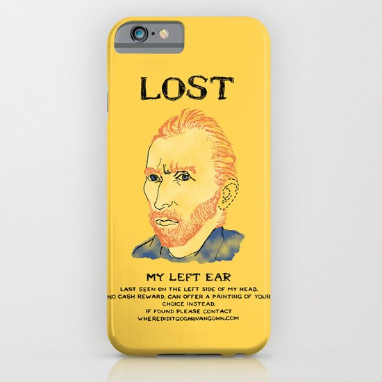 Where did it Gogh? iPhone & iPod Case