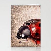 ladybug Stationery Cards featuring Ladybug by Werk of Art