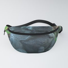 Lion in the tropics Fanny Pack