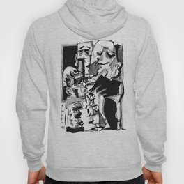 Chapter One: Never Talk with Strangers - b&w Hoody