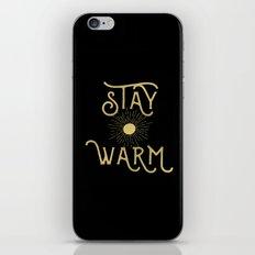 Stay Warm iPhone & iPod Skin