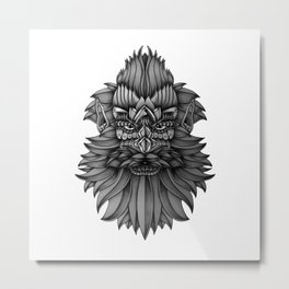 Ornate Dwarf Metal Print