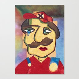 Mario Picasso Canvas Print