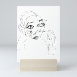 Not Sure Mini Art Print