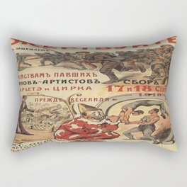 Vintage poster - Russia WWI Rectangular Pillow