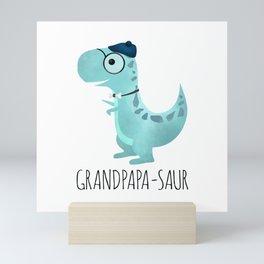 Grandpapa-saur Mini Art Print