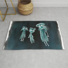 Coraline Ghost Children Rug
