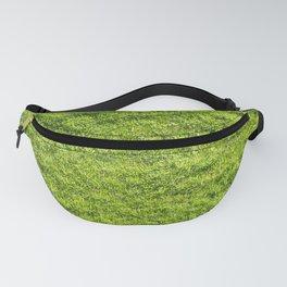 Field of fresh green grass Fanny Pack