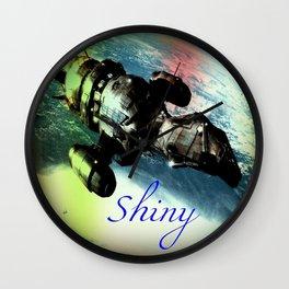 Shiny Firefly Wall Clock