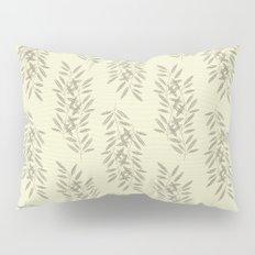 Linen Leaves Pillow Sham