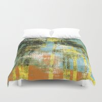 palms Duvet Covers featuring Palms by Alan Dubrovo