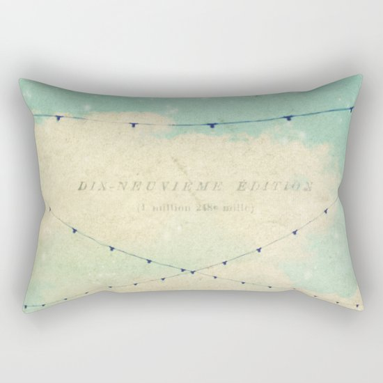 magical lights Rectangular Pillow
