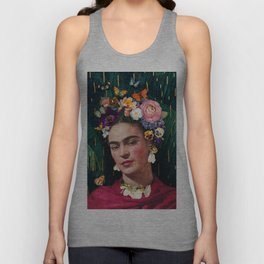 Frida Kahlo :: World Women's Day Unisex Tank Top