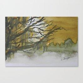 Fogged In Canvas Print