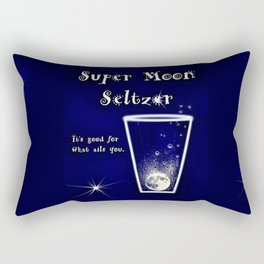 Super Moon Seltzer  Rectangular Pillow
