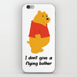 I dont give a bother iPhone Skin
