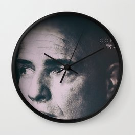 Apocalypse now, Marlon Brando, Vietnam war, alternative movie poster, cult film Wall Clock