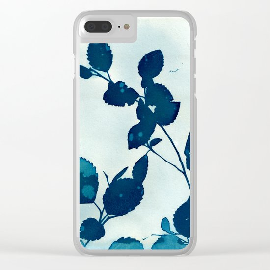Blue Note Clear iPhone Case