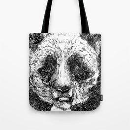 The Illustrated Panda Tote Bag