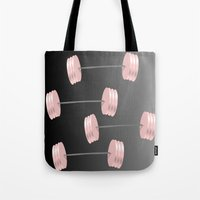 workout Tote Bags featuring I Workout by Trippin Up