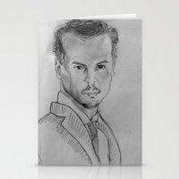 moriarty Stationery Cards featuring Jim Moriarty by Eponime