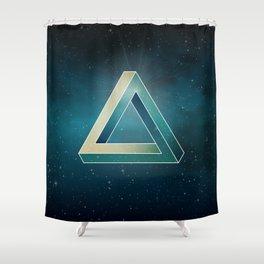 Penrose Universe Shower Curtain