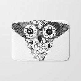 Owl 1 Bath Mat