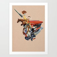 western Art Prints featuring Western by Lerson