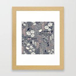 Flower garden 003 Framed Art Print