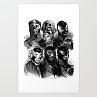 wwe Art Prints featuring WWE 1789 by DIVIDUS