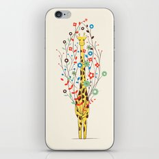 I Brought You These Flowers iPhone & iPod Skin