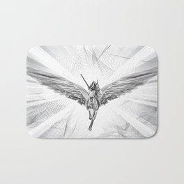 Flying Unicorn Bath Mat