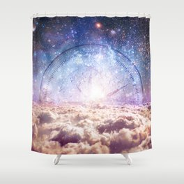 Celestial Guides Shower Curtain