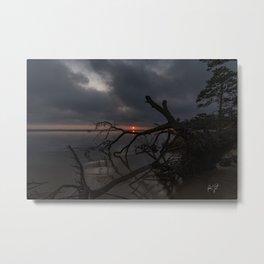 Dark Colington Sunset Metal Print
