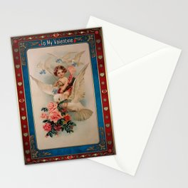 Valentine's Day Vintage Card 060 Stationery Cards