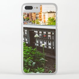 Highline Blooms Clear iPhone Case