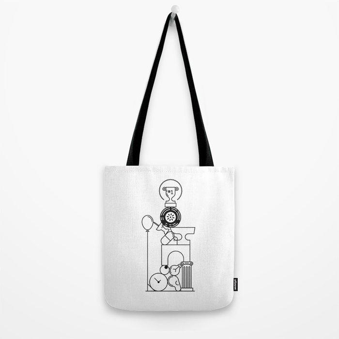 Pile One Tote Bag