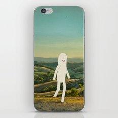 walking in tuscany iPhone & iPod Skin
