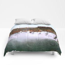 Shoshone Falls, Snake River, Idaho, 1898 Comforters