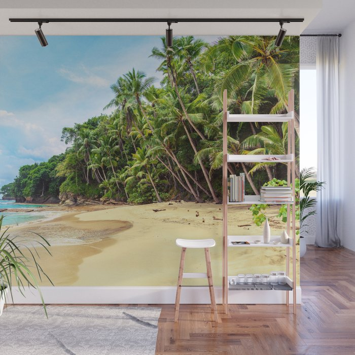 Tropical Beach - Landscape Nature Photography Wall Mural