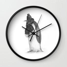 South Pole Essentials  Wall Clock