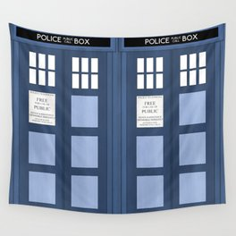 Doctor Who, Tardis Wall Tapestry
