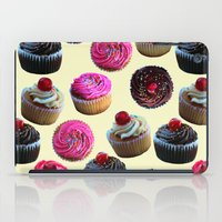 cupcakes iPad Cases featuring Cupcakes by Tangerine-Tane